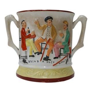 Staffordshire Mug - Loving Cup Frog Tankard