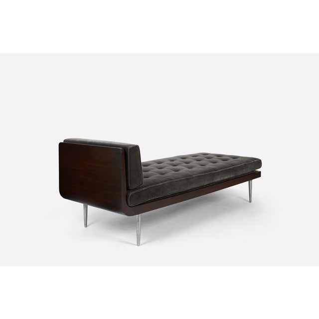 Mid-Century Modern Chaise Longue by Edward Wormley for Dunbar For Sale - Image 3 of 6