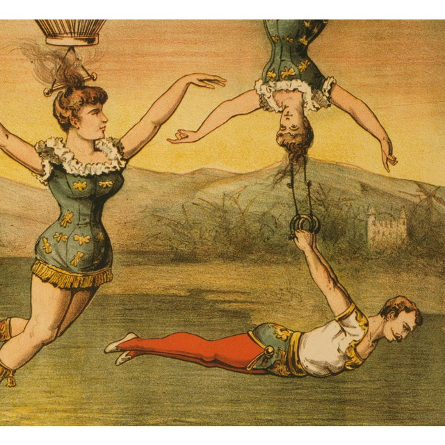 """Descente D'Absalon"" Print of French Circus Poster - Image 4 of 5"