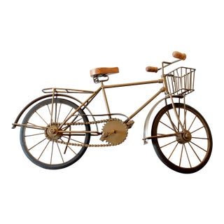 Vintage Bicycle Figurine
