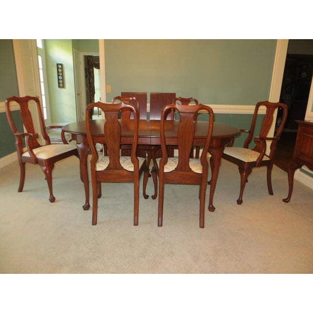 Queen Anne Henkel Harris Dining Set For Sale - Image 10 of 10