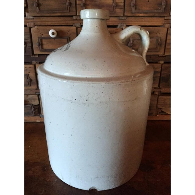 Grommes & Ullrich Pre-Prohibition Whiskey Jug Circa 1890's For Sale - Image 4 of 9