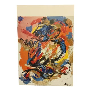 1978 Karl Appel Lithograph For Sale