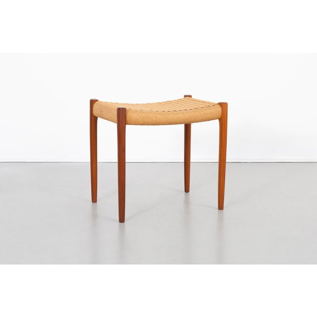 Niels Moller Mid-Century Modern Stool For Sale - Image 9 of 9
