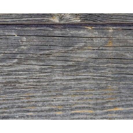 Salvaged Gray Barn Wood Mirror - Image 3 of 3