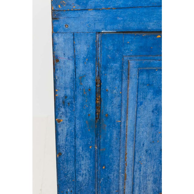Indigo Painted Buffet For Sale In New York - Image 6 of 13