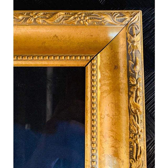 """Paper Itzchak Tarkay Stereograph in Matted Gilt Frame """"Enchanted Moments"""" For Sale - Image 7 of 11"""