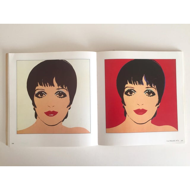 """Contemporary """"Warhol Portraits of the 70's"""" Vintage 1979 Rare 1st Edition Collector's Art Book For Sale - Image 3 of 11"""