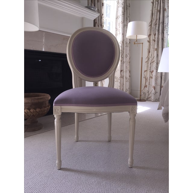 Set of Custom Dining Room Chairs - 10 - Image 3 of 8