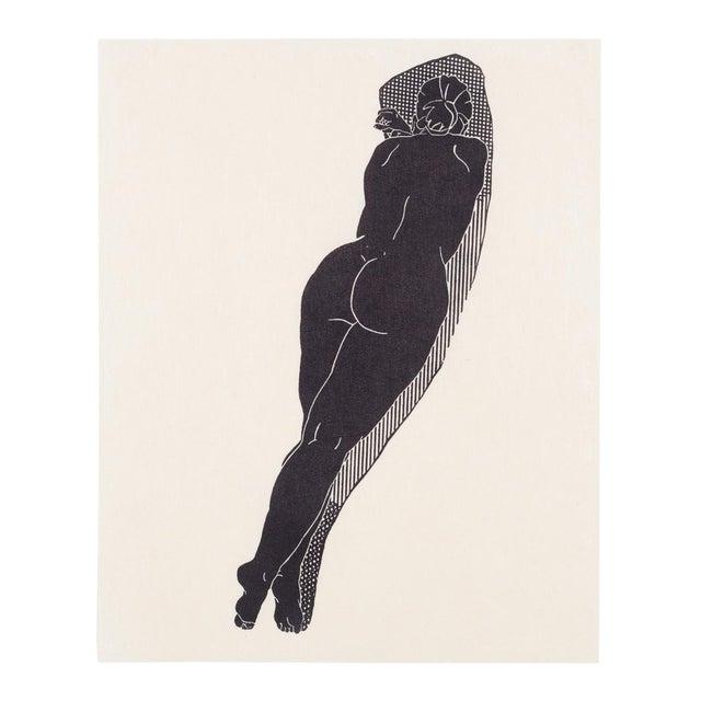 Christian Johnson Untitled, 2016 Linocut Print For Sale
