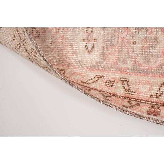 """Vintage Floral Woolen Sparta Rug 6' X 8'9"""" For Sale - Image 9 of 11"""
