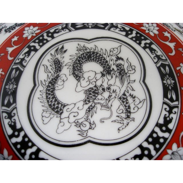 Late 20th Century Porcelain Charger For Sale - Image 5 of 8