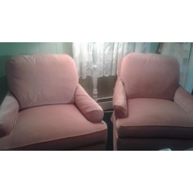 Drexel Heritage Frederick Edward Distictive Seating Club Chairs - A Pair For Sale - Image 11 of 12