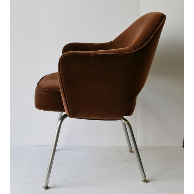 Mid-Century Modern 6 Eero Saarinen Executive Chairs for Knoll - From Ibm Offices For Sale - Image 3 of 9