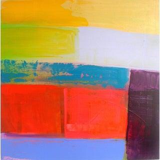 """Landscape Design 2"" Acrylic Painting For Sale"