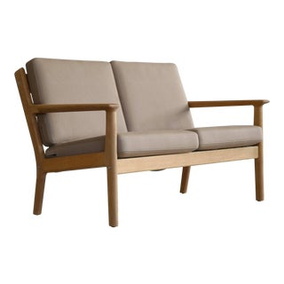 Hans Wegner Loveseat or Settee Model GE-265 for GETAMA, Denmark