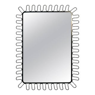 Modern Mirror in the Manner of Jean Royere