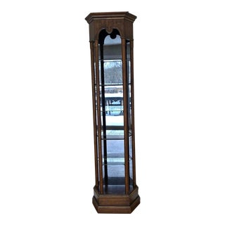 "Drexel Heritage ""Grand Tour"" Etagere Curio Display Cabinet For Sale"