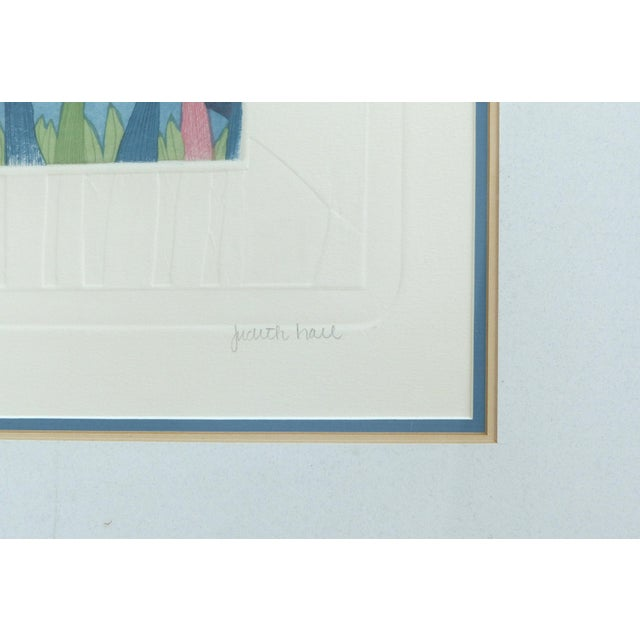 """Judith Hall """"The Rookery"""" Intaglio Print For Sale - Image 9 of 10"""