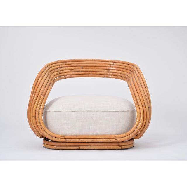 Eva Armchair Designed by Giovanni Travasa for Vittorio Bonacina For Sale - Image 12 of 12