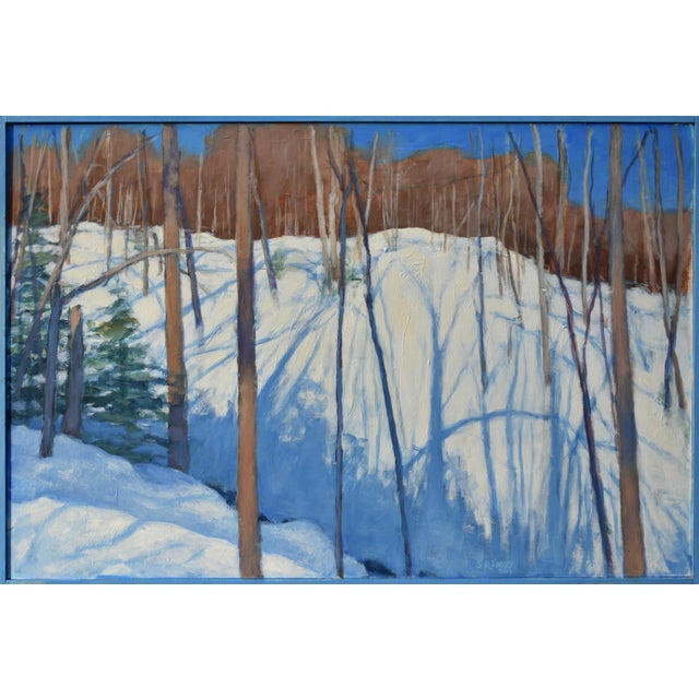 """Stephen Remick Stephen Remick """"Sunny Ridgeline"""" Contemporary Painting For Sale - Image 4 of 12"""