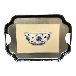 Chinoiserie Tray by Vietri For Sale
