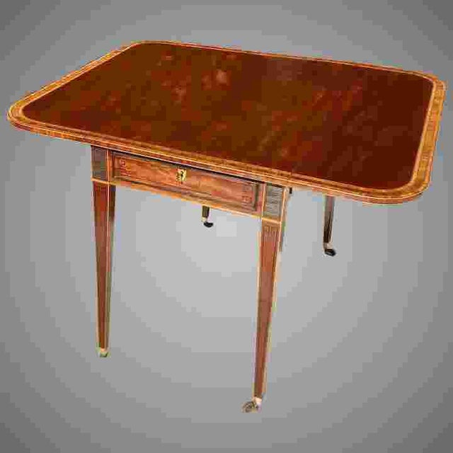 18th C. George III Pembroke Table For Sale - Image 11 of 11