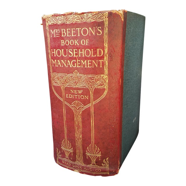 1900 Antique Mrs Beetons Cookery Book - Image 1 of 10