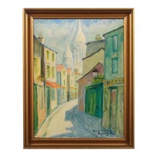 Rue St. Rustique by Emil Dyrberg Petersen For Sale
