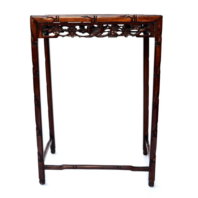 Chinese Side Table Qing Dynasty 19th C For Sale - Image 4 of 10