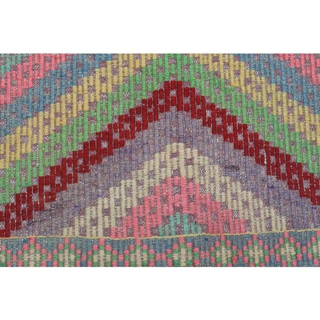Anatolian Kilim Turkish Embroidery Rug For Sale - Image 10 of 13