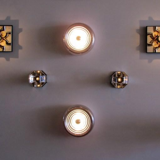 "Castiglioni ""Padina"" Wall Lights - A Pair For Sale - Image 10 of 10"