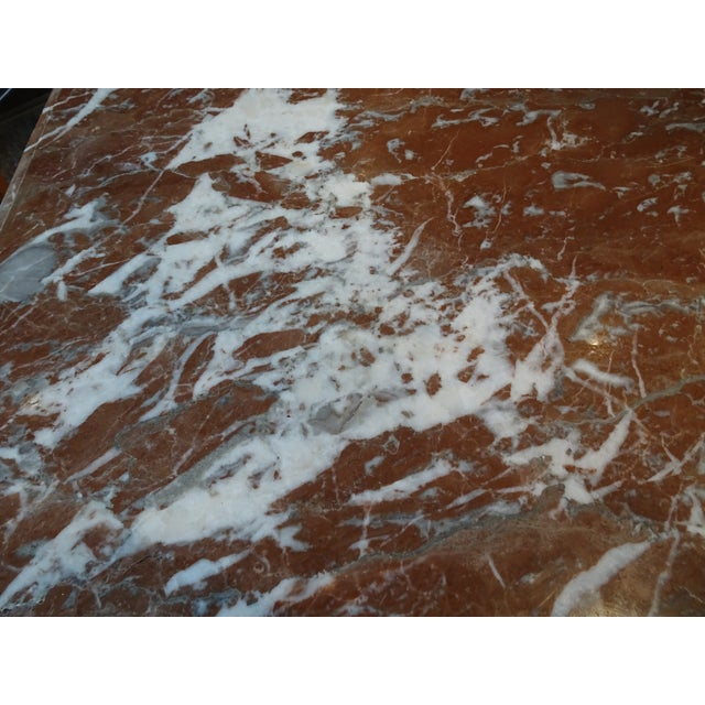 19th Century French Marble Top Table For Sale - Image 9 of 12