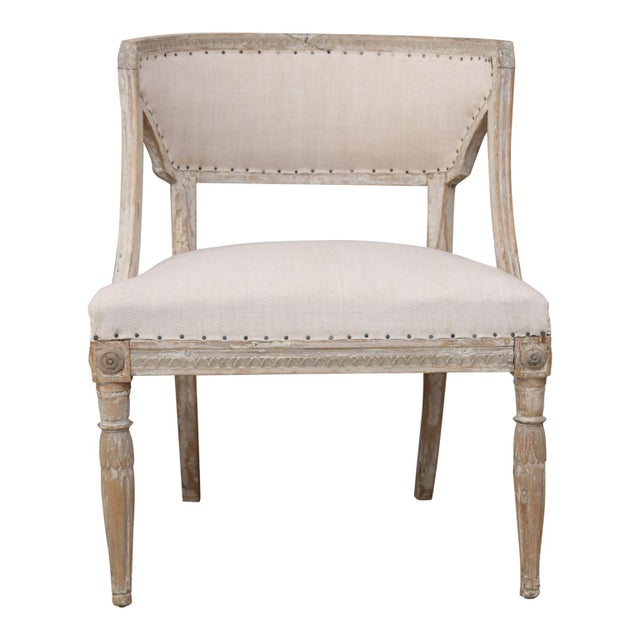 Pair of 19th Century Swedish Armchairs For Sale - Image 4 of 9