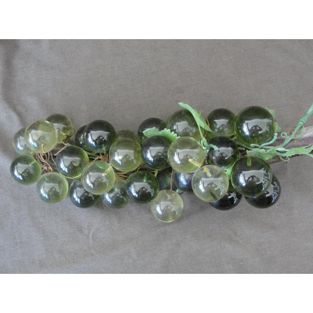 Mid-Century Green Lucite Grapes For Sale - Image 4 of 6