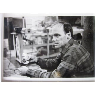 Silver Gelatin Print of Michael Heizer; Ari Marcopoulos Photogra For Sale