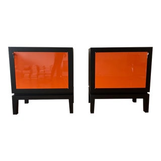 1990s Contemporary Lacquered Cabinets - a Pair For Sale