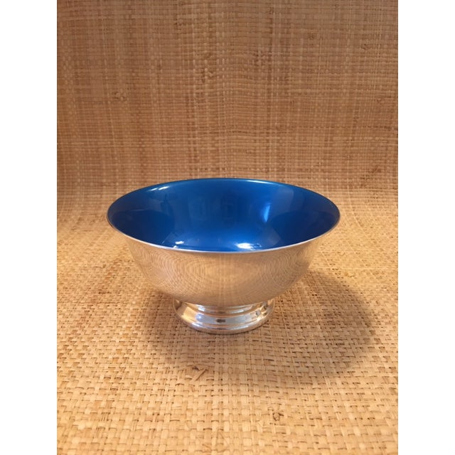 Reed and Barton Revere Bowls With Enameled Interior - Set of 3 For Sale In New York - Image 6 of 12