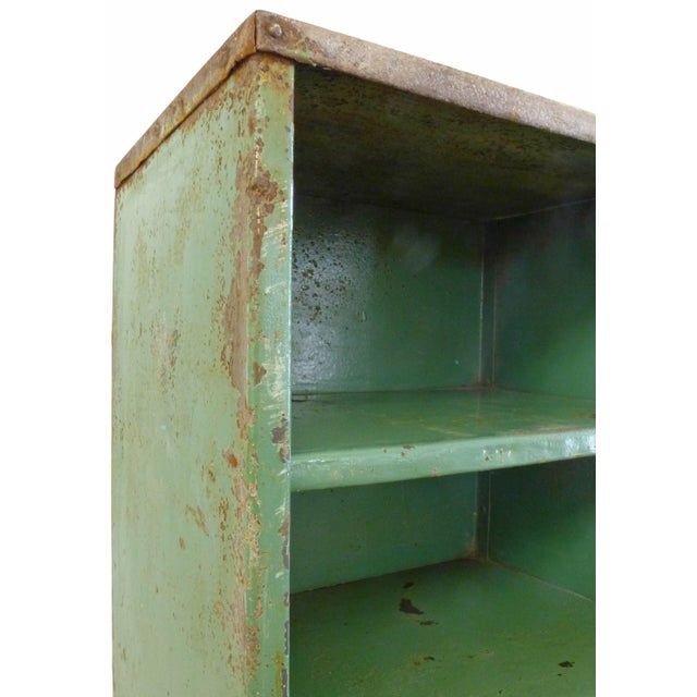 1930s French Industrial Shelving Unit For Sale - Image 4 of 5