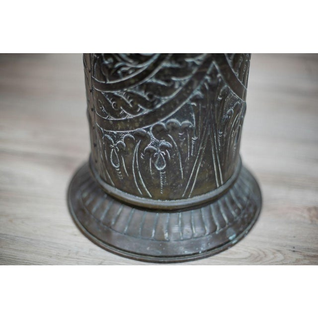 Traditional Brass Umbrella Stand, circa 1970-1980 For Sale - Image 3 of 9