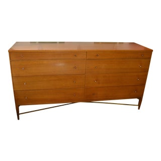 1950s Mid-Century Modern Calvin Furniture Company for Paul McCobb 8-Drawer Credenza For Sale