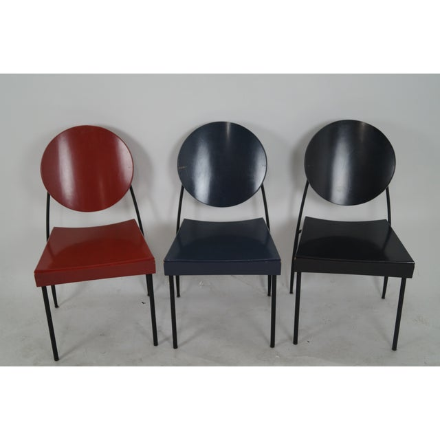 Store Item #: 8856 Dakota Jackson set of 6 modern design dining chairs VIK-TER 1. Approx 20 years, America. High quality,...