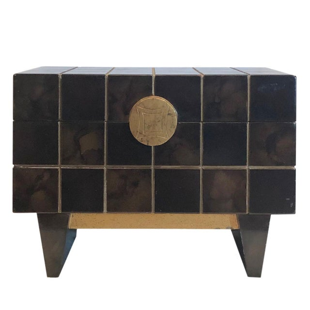 1970s Maitland Smith Mid Century Box For Sale - Image 10 of 10
