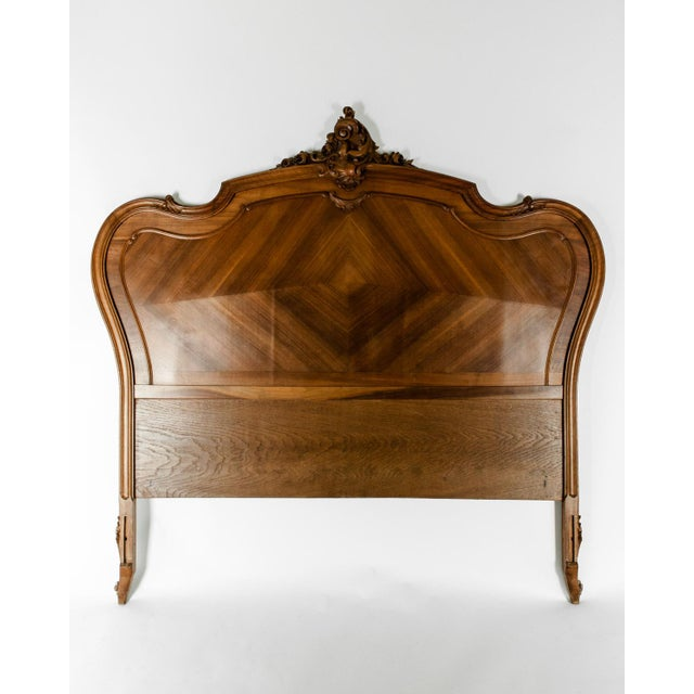 Late 19th Century French Burl Walnut Bed For Sale - Image 13 of 13