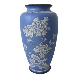 Antique Nippon Morimura Wedgwood Jasperware Vase For Sale