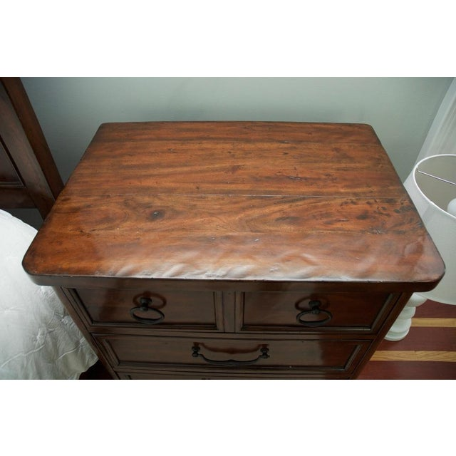 Bernhardt Vintage Patina Nightstands - a Pair For Sale In New York - Image 6 of 8