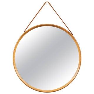 Round Wall Mirror, Uno and Östen Kristiansson For Sale