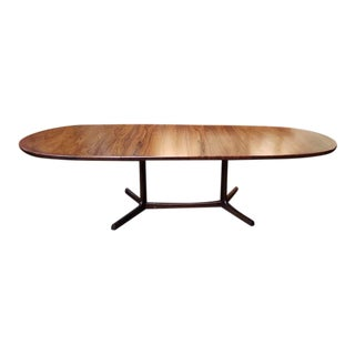 Mid Century Modern Extending Rosewood Dining Table C.1960s For Sale