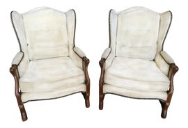 Image of Louis XIII Wingback Chairs