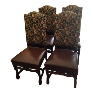 Vintage Dining Chairs - Set of 6 For Sale